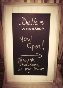 Della's Workshop is OPEN FOR BUSINESS!